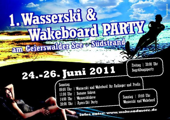 wakeandmore party